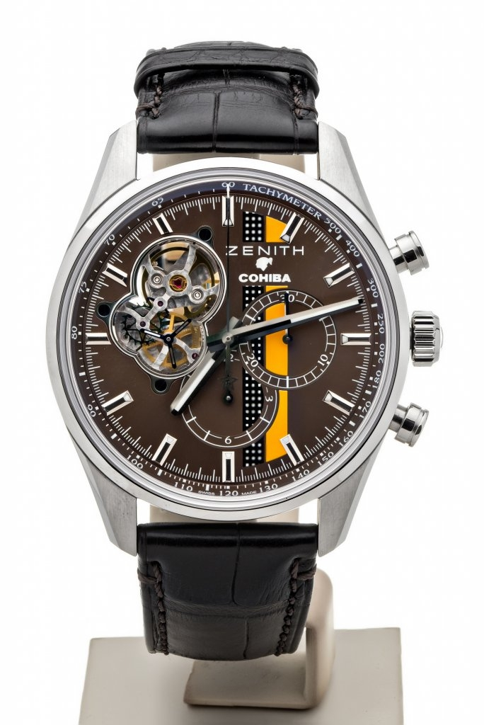ZENITH EL PRIMERO LEGEND OF COHIBA REF 03.2047.406176.C494 7TO7.RO LUXURYWATCHES 1