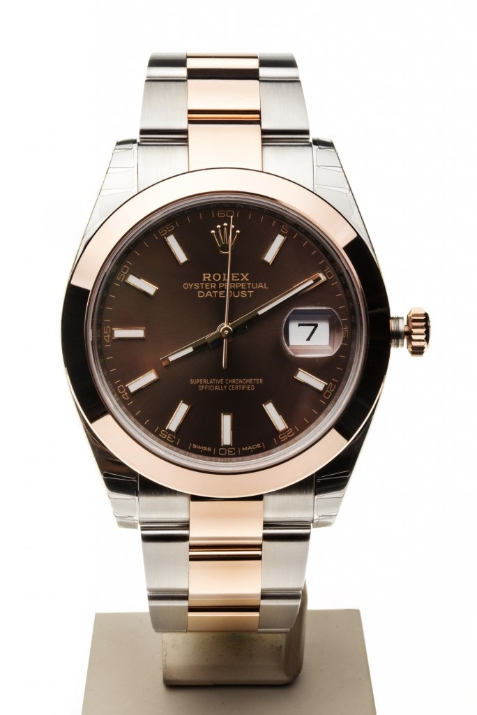 ROLEX DATEJUST 41 MM REF. 126301 7TO7.RO LUXURY WATCHES CHOCO DIAL OYSTER 1