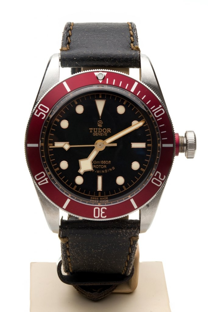TUDOR HERITAGE BLACK BAY RED 79220R STEEL 7TO7.RO LUXURY WATCHES 1